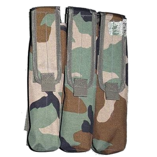 Molle P90 mag pouch tripple woodland