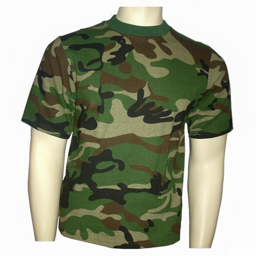 T-Shirt US Woodland
