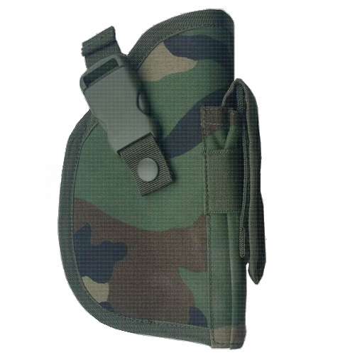 Molle pistool holster US Woodland