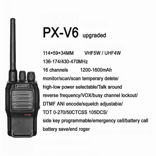 Puxing PX-V6