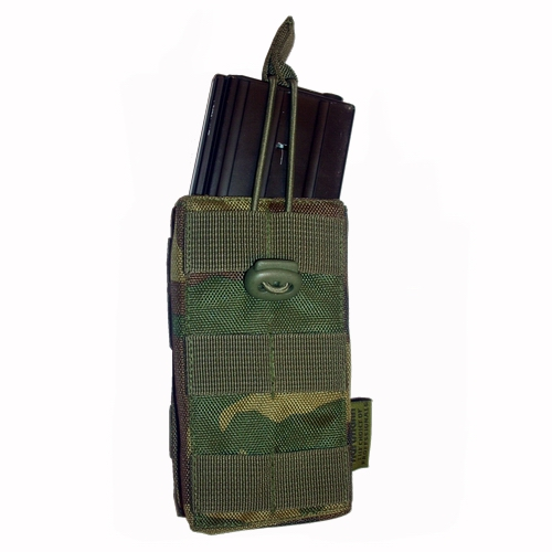 Open M4 mag pouch enkel US Woodland