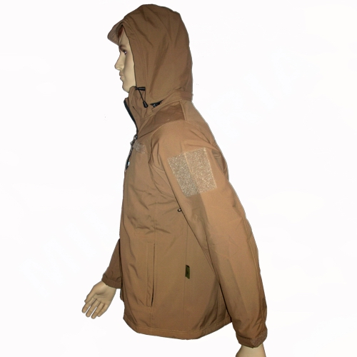 Softshell parka TAN