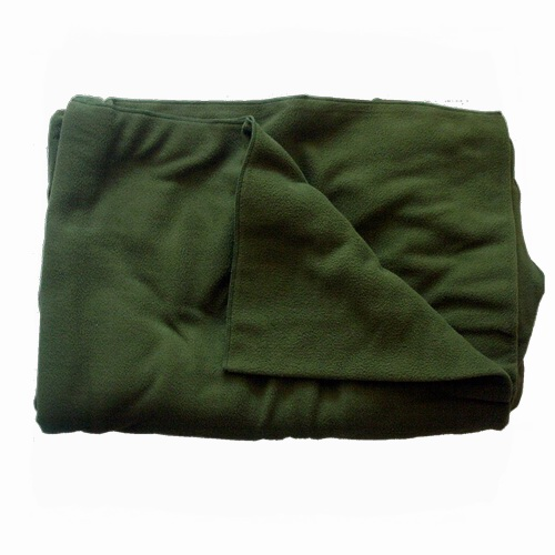 Fleece deken (polarfleece) groen