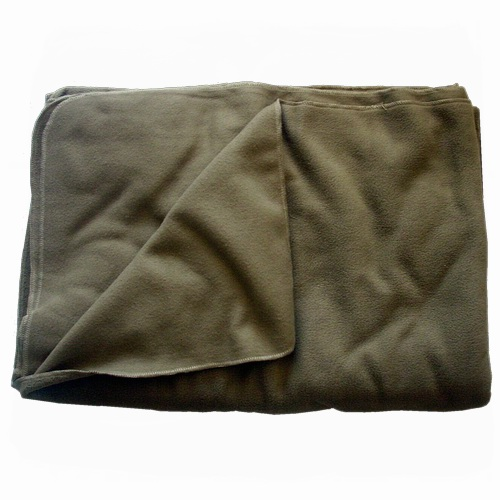 Fleece deken (polarfleece) TAN