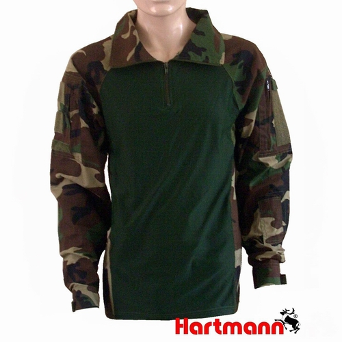 Combat shirt UBACS US Woodland
