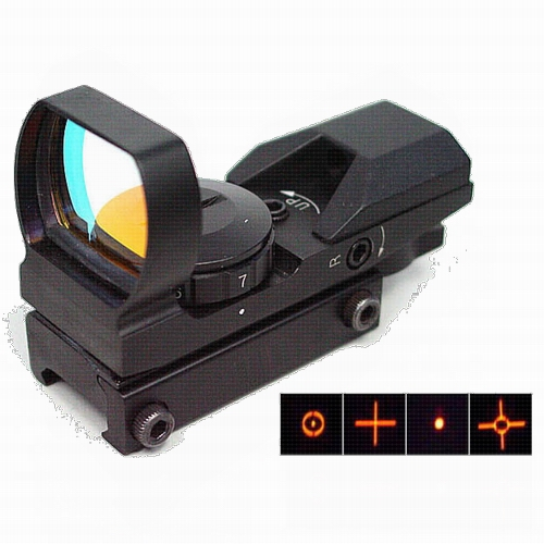 Holographic Multi 4 Reticle Red-green Dot Sight Reflex Scope