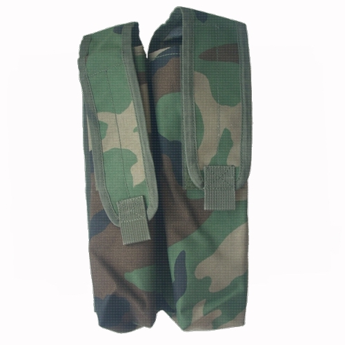 Molle P90 mag pouch dubbel woodland