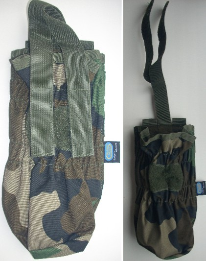 Paintball CO2 pouch